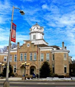 The Cumberland County Courthouse