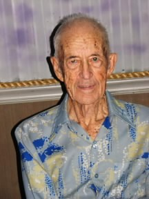 My Dad on his 96th Birthday.  August 29, 2008.