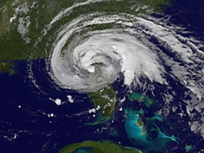 Tropical Storm Fay over Florida