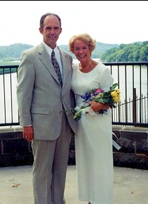 Our wedding day -- June 23, 2001.