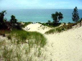 Indiana Dunes National Lakeshore.  July, 2002.