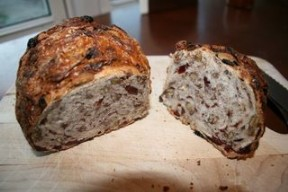 Cranberry Pecan Bread.  Yummy!!!