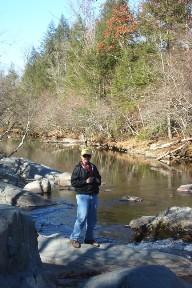 George at Greenbrier Creek, November 3, 2008.