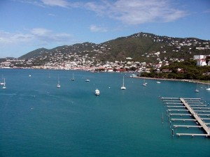 Charlotte Amalie, St. Thomas, Virgin Islands.  September, 2001.