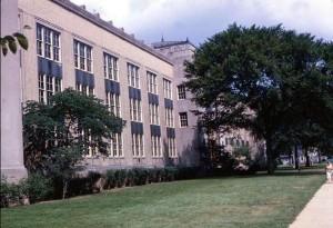 John Marshall High School, Cleveland, Ohio.  May, 1964.