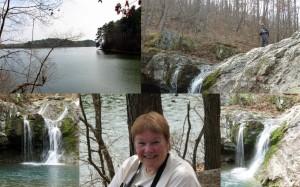 Falls Creek Falls, Lake Catherine State Park, Arkansas.  March 9, 2009.