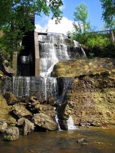 Dunn's Falls, Enterprise, Mississippi.  April, 2008.