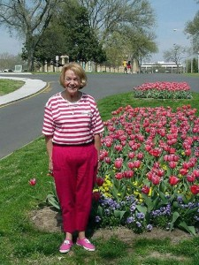 Betsy at Centennial Park.  April 7, 2001.