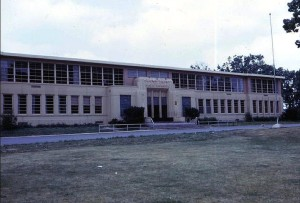 Crown Point High School, circa 1960.