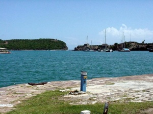 Nelson's Dockyard, Antigua.  September 12, 2001.