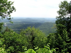 The view from White Oak Mountain, North Carolina.  May, 2008.