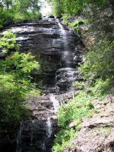 Shunkawauken Falls, Columbus, North Carolina.  May 20, 2008.