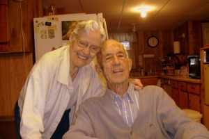 Mom and Dad.  February 27, 2009.