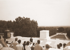 The Tomb of the Unknown, Arlington.  July, 1992.