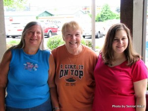 Leedra, Betsy and Shelley.  Cleveland, Tennessee.  June 12, 2009.