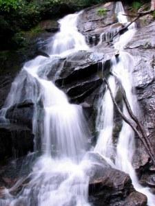 Ammons Creek Falls, Clayton, Georgia.  June 22, 2009.