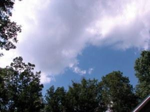 Fairfield Sky.  June 20, 2009.