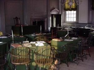 Independence Hall, Philadelphia, Pennsylvania.  November 18, 2000.