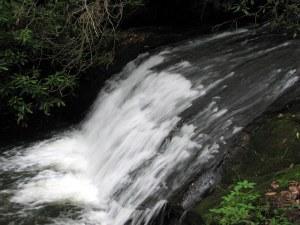 Laurel Mountain Falls, Dillard, Georgia.  June 22, 2009.