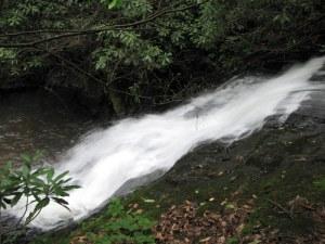 Lower Laurel Mountain Falls, Dillard, Georgia.  June 22, 2009.