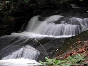 Upper Laurel Mountain Falls, Dillard, Georgia.  June 22, 2009.