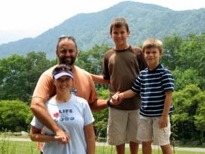 Bob, Mel, Zack and Sean.  July 11, 2009.