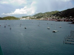 Charlotte Amalie, St. Thomas, Virgin Islands.  September  10, 2001.