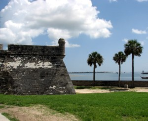 Castillo de San Marcos, St. Augustine, Florida.  August 4, 2009.