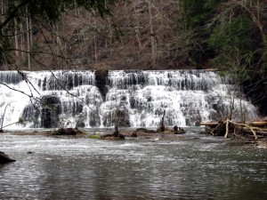 Waterloo Falls, Cookeville, Tennessee.  February 23, 2008,