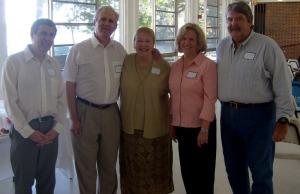 Bob, Steve, Betsy, Carolyn and Mickey.  October 17, 2009.