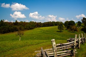 Brush Mountain, Cumberland Gap, Tennessee.  September 23, 2010.