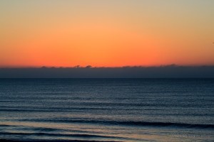 Dawn brought some beautiful color to the sky off Ocean Isle Beach, North Carolina.  December 14, 2012.