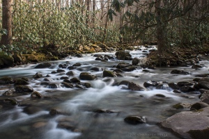 Little Pigeon River, Great Smoky Mountains National Park, Tennessee.  January 23, 2013.