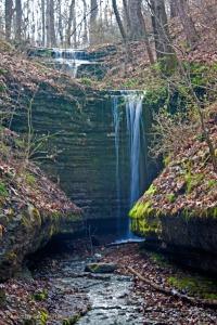 Wetumpka Falls, Tullahoma, Tennessee.  February 9, 2012.