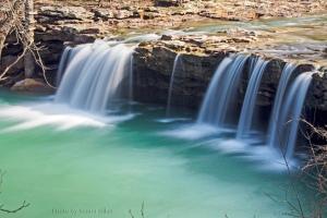 Falling Water Falls, Ozark National Forest, Arkansas.  February 14, 2013