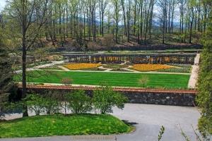 Biltmore Estate's Walled Garden, Asheville, North Carolina.  April 16, 2013.