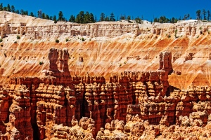 The view from Sunset Point, Bryce Canyon.  June 21, 2011.