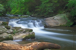 Bald River Cascades, Cherokee National Forest, Tennessee.  July 25, 2013.