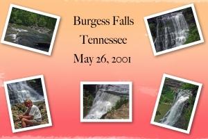 2001 -- Burgess Falls