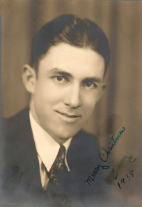John Emery Adams, Jr., in December, 1938.  He was 26 years old.