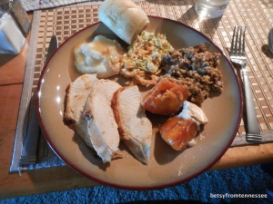 Thanksgiving dinner, November 28, 2013.