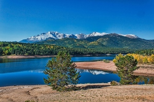 Crystal Creek Reservoir on Pikes Peak Highway.  September 14, 2012.