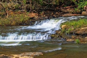 Burgess Falls State Park, Tennessee.  October 5, 2014.