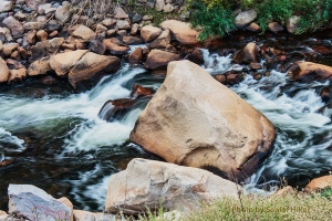 Big Thompson River, Colorado.  September 17, 2012.